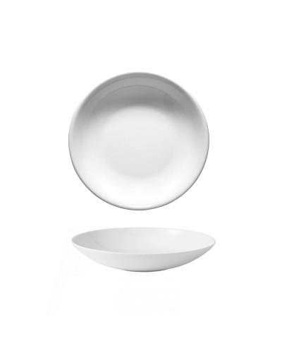 Piatto Fondo EO Bianco in Porcellana Ø 20 cm Gural