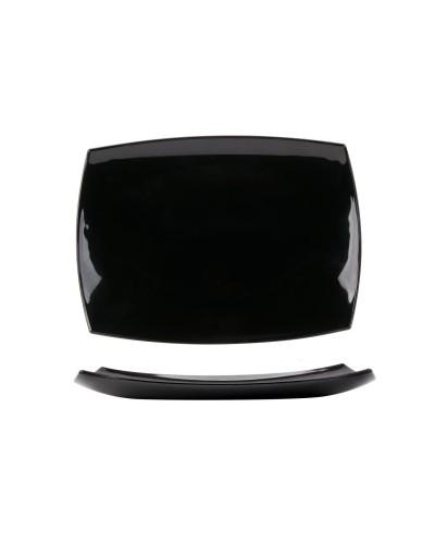 Vassoio Delice Noir 35x25 cm in Vetro Arcoroc