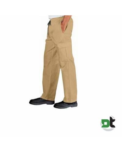 Pantalone Cuoco Biscotto Beige Tg. S Isacco