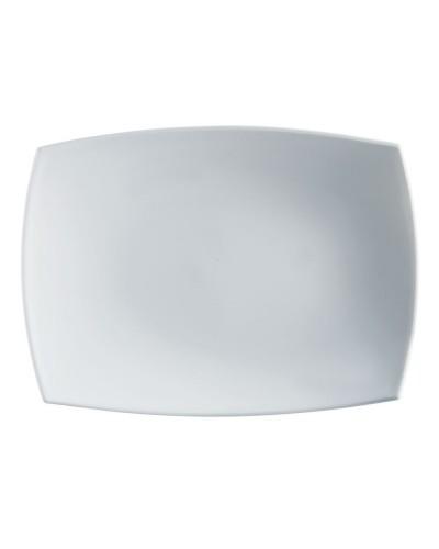Vassoio Delice Blanc 35x25 cm in Vetro Arcoroc