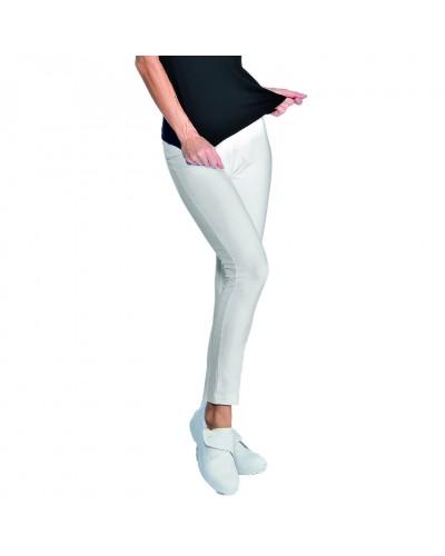 Pantalone Donna Leggings Bianco Tg. L Isacco