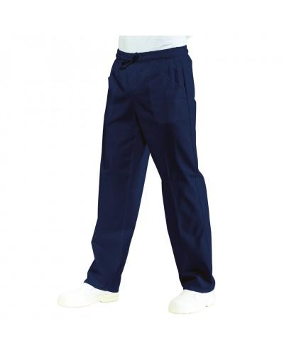 Pantalone da Lavoro Blu Con Elastico Tg. XL Isacco