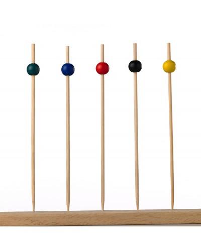 Spiedi Sfera Bamboo 15 cm 100 pz per Finger Food Leone