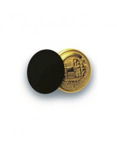 Bottoni Gemelli Oro e Nero 4 pz Isacco