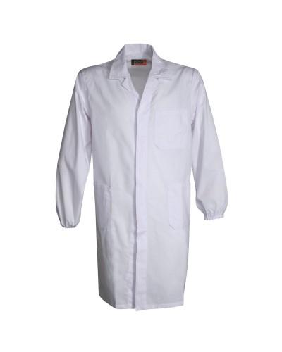 Camice unisex bianco