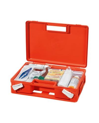 Cassetta Medica Primo soccorso Arancio All. 2 Neri