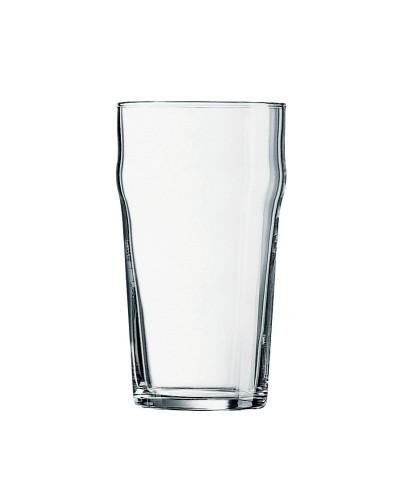 Set 48 pz Bicchieri Birra Nonic 57 cl 20 oz Vetro Temperato