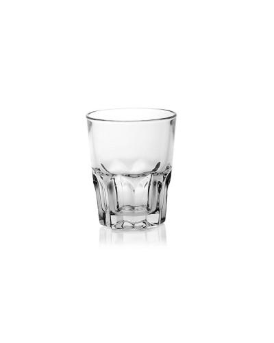 Set 12 pz Bicchierini Shot Liquore Arcoroc Granity 4,5 cl impilabili
