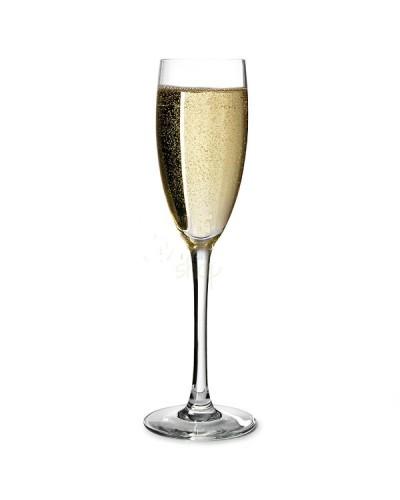 Set 6 pz Calici Flute Bicchieri per Spumante Cabernet 16 cl Arcoroc
