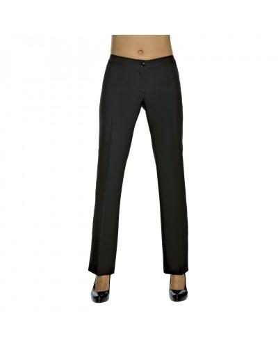 Pantalone Donna Trendy Nero Poliestere Isacco