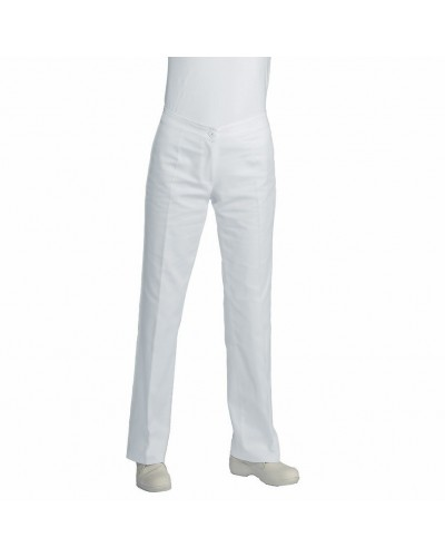 Pantalone Donna Trendy Bianco Poliestere Isacco