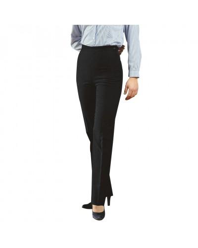 Pantalone Donna Nero Poliestere Isacco