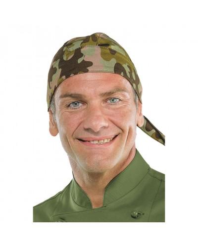 Bandana Mimetico 04 Camouflage militare cotone Isacco