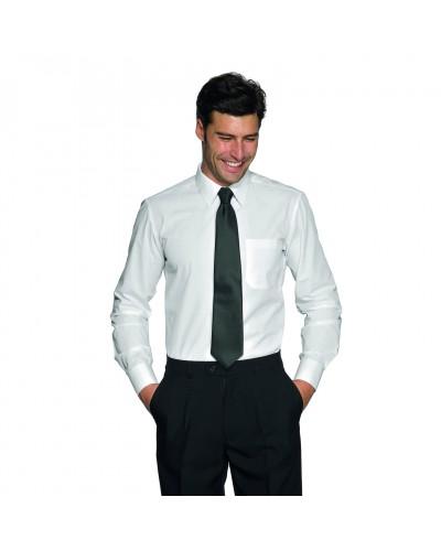 Camicia Uomo Cartagena Bianca in misto cotone Isacco