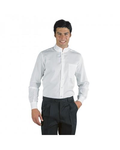 Camicia Unisex Dublino Bianca in misto cotone Isacco