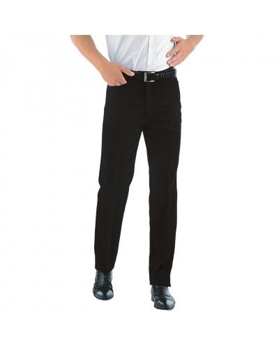 Pantalone Uomo Carrettera Nero in Poliestere Isacco