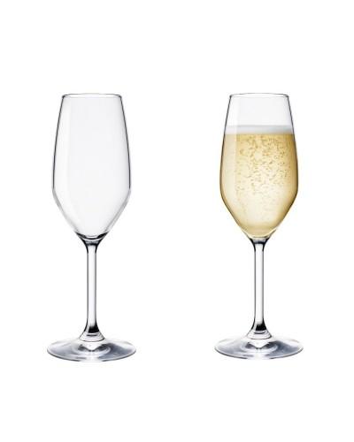 Set 3 pz Calice Flute Resturant 24cl Bormioli Rocco Spumante Champagne