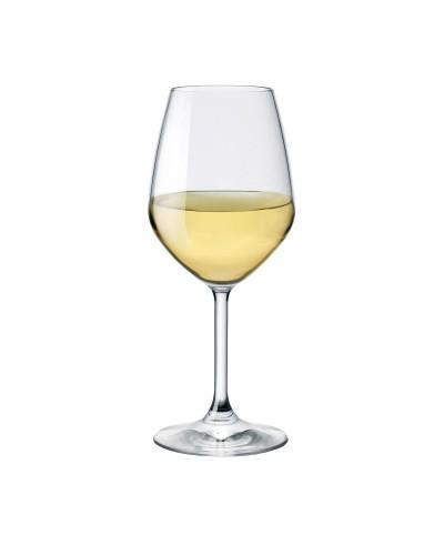 Set di 6 Calici per Vino Bianco Bormioli Rocco Divino 42,5 cl in Vetro