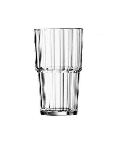 Set 6 pz Bicchieri Cocktail Bevande Norvege 32 cl Impilabili Arcoroc