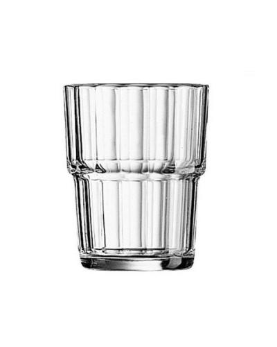 Set 6 pz Bicchieri Acqua Bevande Norvege 16 cl Impilabili Arcoroc