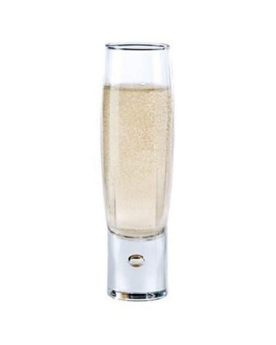 Set 6 pz Bicchieri Liquore Amaro Durobor Bubble 20cl Vetro Trasparente