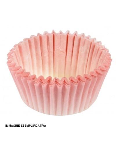 Pirottini Carta Tondi Rosa n°4 2000 pz per Muffin o Cupcake