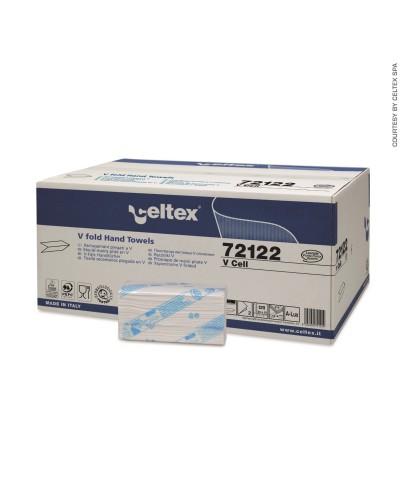 Asciugamani Carta Piegati a V 210x15cf per Dispenser Celtex