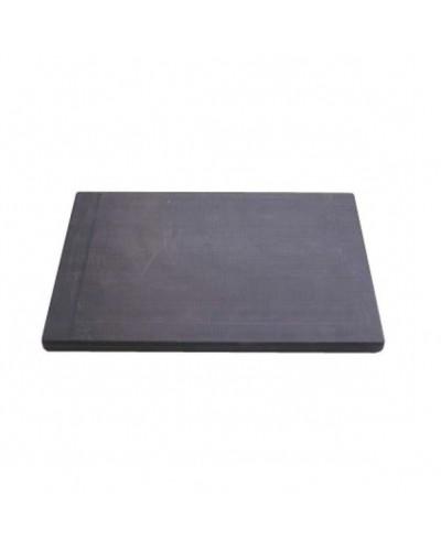 Tagliere Nero in Polietilene 14x24x1,5 cm per Barman e Cucina