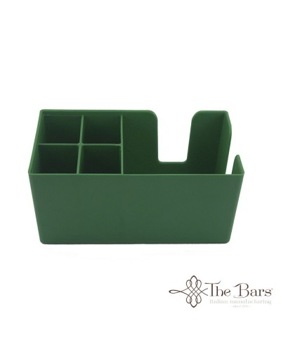 BAR ORGANIZER PORTA TOVAGLIOLI CANNUCCE VERDE THE BARS