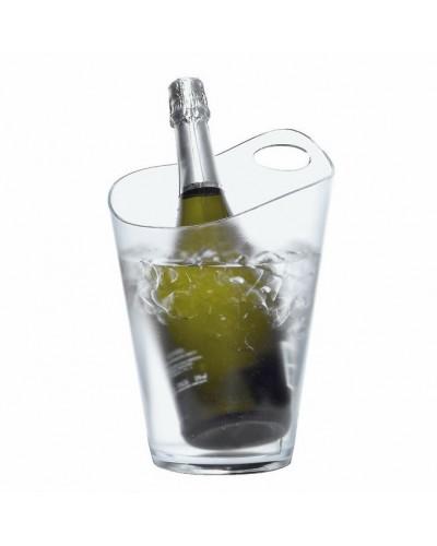Secchiello Vino Trasparente Con Manico in Policarbonato Dampe