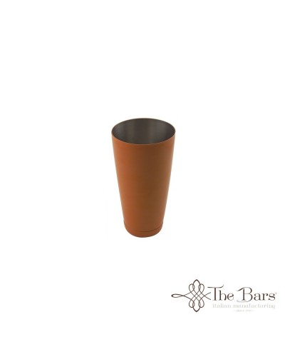 SHAKER TIN BOSTON BILANCIATO ARANCIONE ACCIAIO 28 oz BARMAN THE BARS