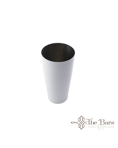 SHAKER TIN BOSTON BILANCIATO BIANCO ACCIAIO 28 oz BARMAN THE BARS