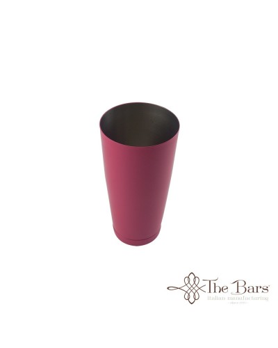 SHAKER TIN BOSTON BILANCIATO FUXIA ACCIAIO 28 oz BARMAN THE BARS