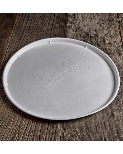 Piatto Pizza in Polpa di Cellulosa da 32 cm - Pacco da 25 pz