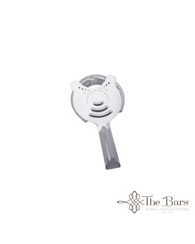 COCKTAIL STRAINER KING COLINO FILTRO ACCIAIO BARMAN THE BARS