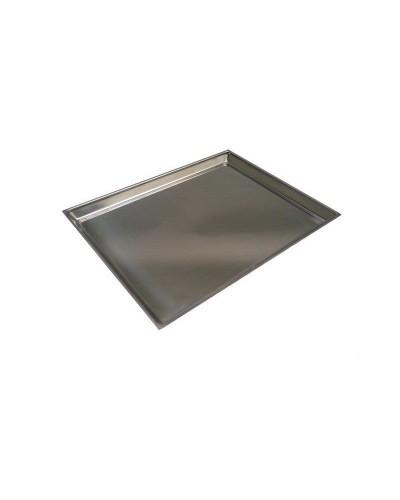 Vassoio Esposizione per Vetrina Bar e Pasticceria in Acciaio 29x21 cm