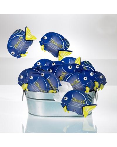 Salviettine Mani Pesce Blu Profumate al Limone in Tnt 80 pz Leone