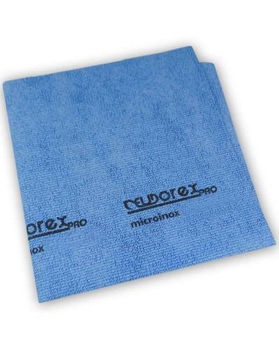 Panno pulizia Acciaio Micro Inox Blu 40x45 cm professionale Eudorex