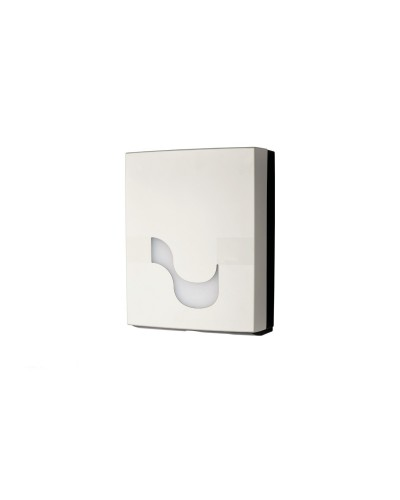 Dispenser asciugamani carta piegati a V o C bianco Megamini Celtex