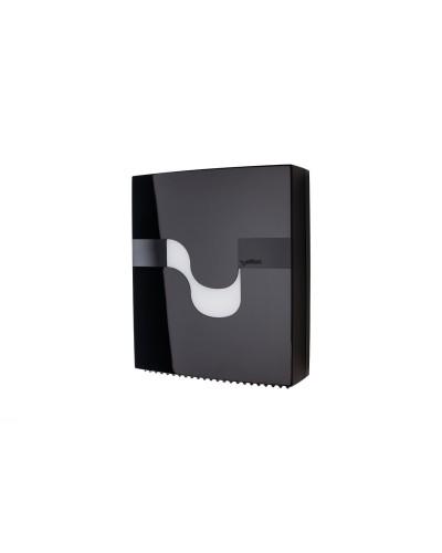 Dispenser carta igienica maxi jumbo nero Megamini Celtex