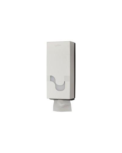 Dispenser carta igienica intercalata a fogli bianco Megamini Celtex
