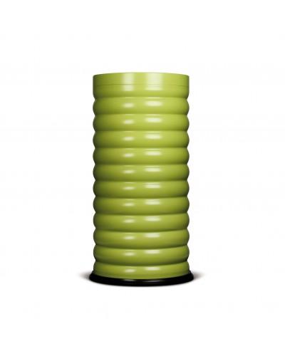 Pattumiera gettacarte Luna in ferro Verde Lime 40 lt Stil Casa