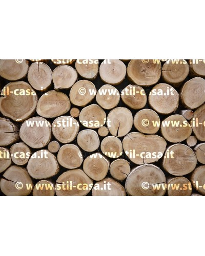 Cover Pure Wood W03 per fusto triangolare da 60 lt Stil Casa