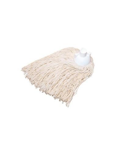 Mocio cotone bianco 240 gr filo grosso professionale Ipc Tools