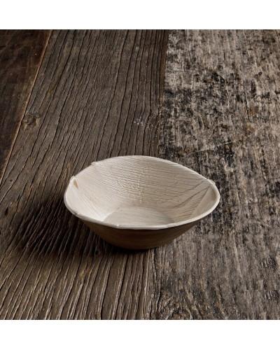 Piatto Ovale Ø 26 cm Foglia di Palma 25 pz