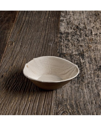 Piatto Ovale Foglia di Palma Ø 26 cm 25 pz Biodegradabile