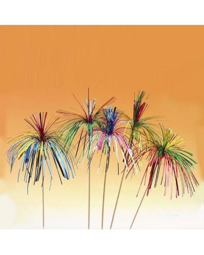 Palmette Colorate in Legno 144 pz per Decorazione Party