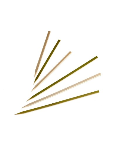 SPIEDI IKEBANA BAMBOO 15 cm 100 pz PARTY APERITIVI FINGER FOOD MONOUSO SPIEDINI