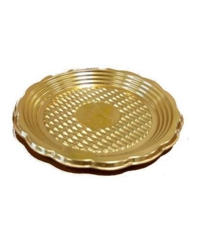Vassoio Monoporzione Oro 12 cm 100pz