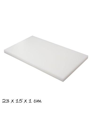 Tagliere Bianco 23x15x1 cm